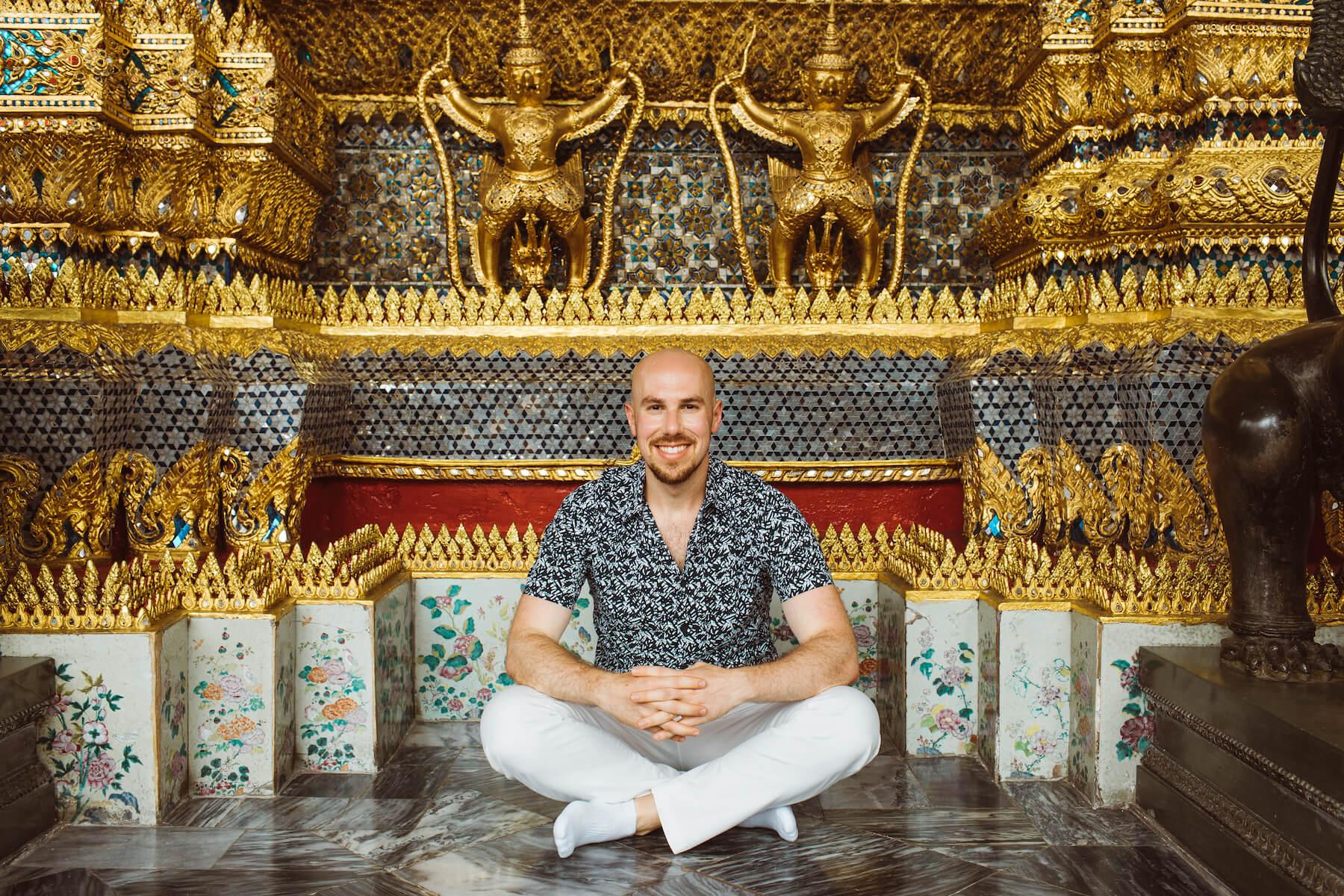 Solo traveler in Bangkok Thailand
