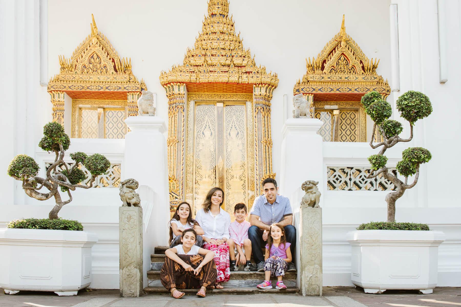 Family in Bangkok India