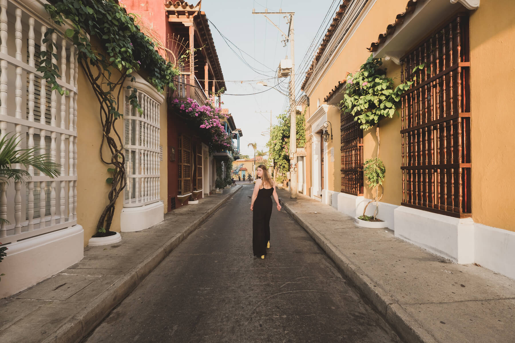 Solo traveler in Cartagena Colombia