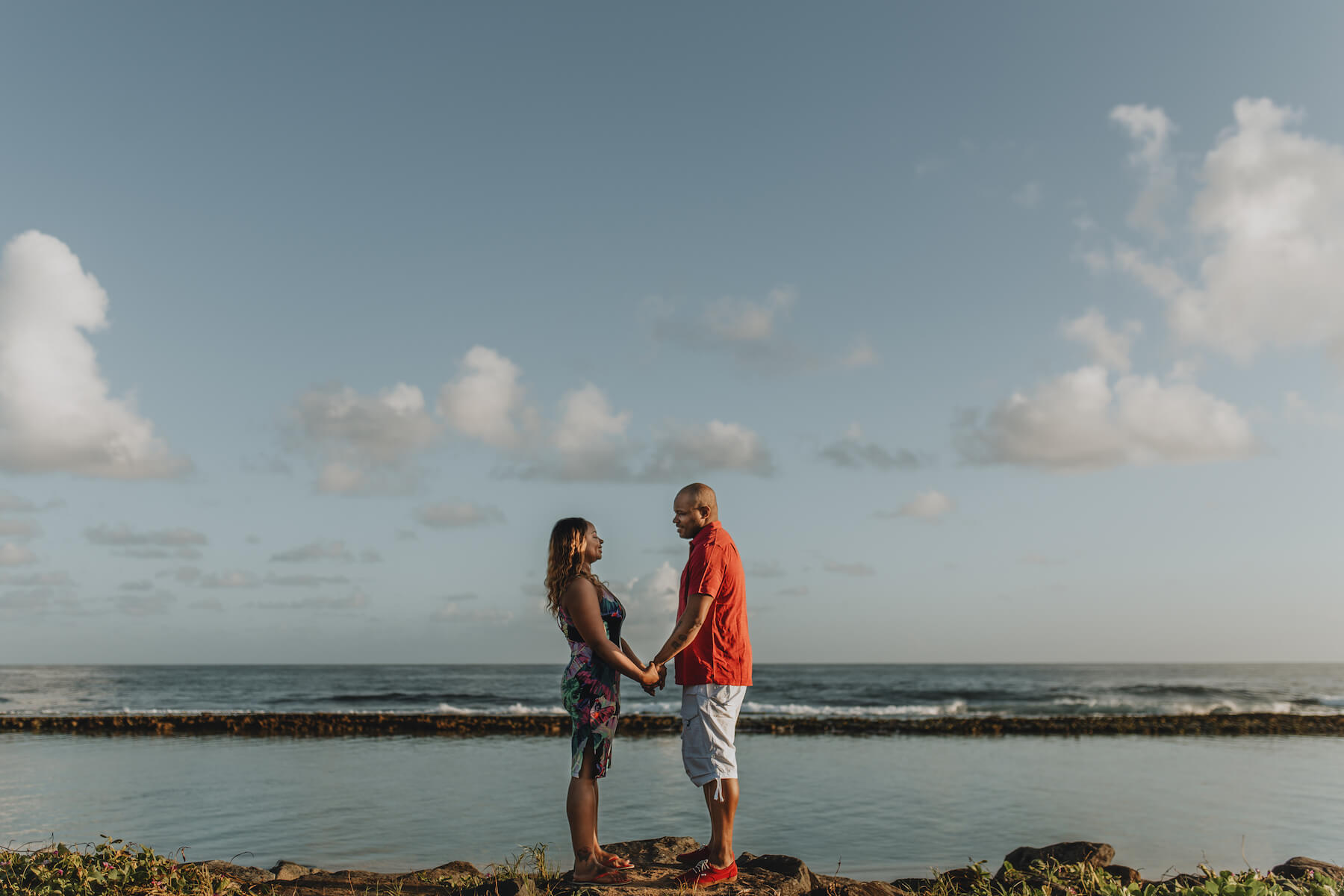 Couple in San Juan Puerto Rico