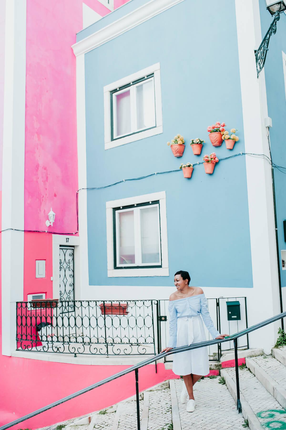 Solo traveller international women's day 2020 Lisbon Portugal