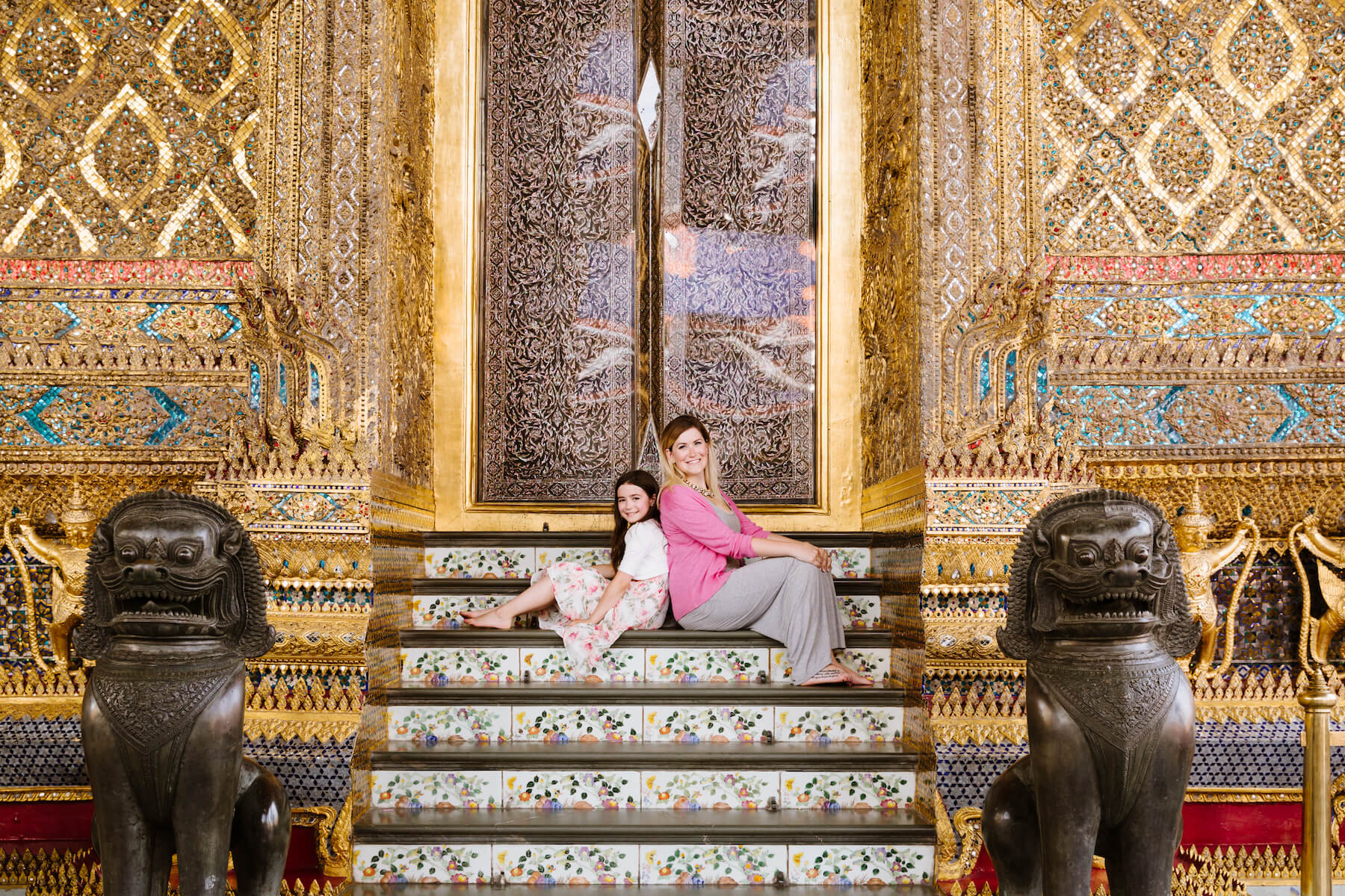 Mother and daughter photoshoot in Bangkok Thailand