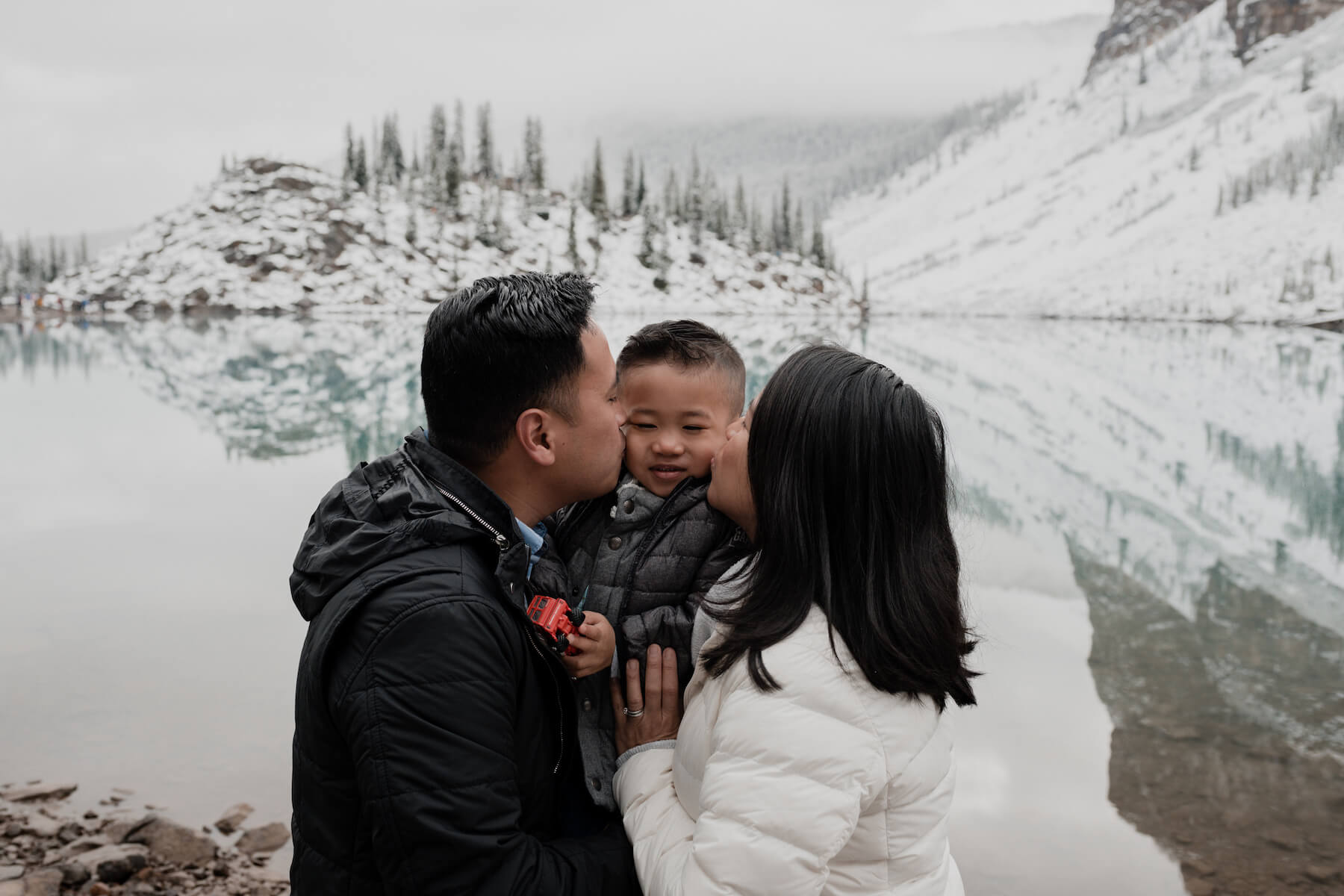 Lake Louise in Banff Canada for Flytographer