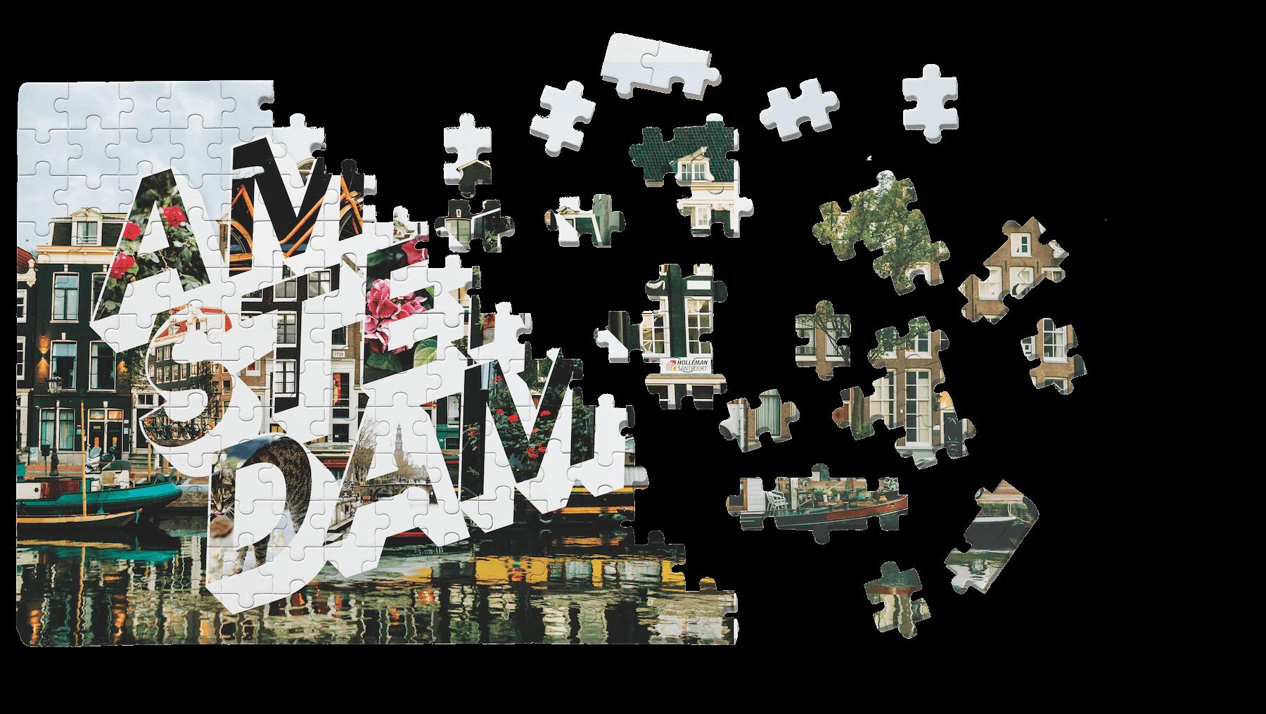 Amsterdam City Puzzle
