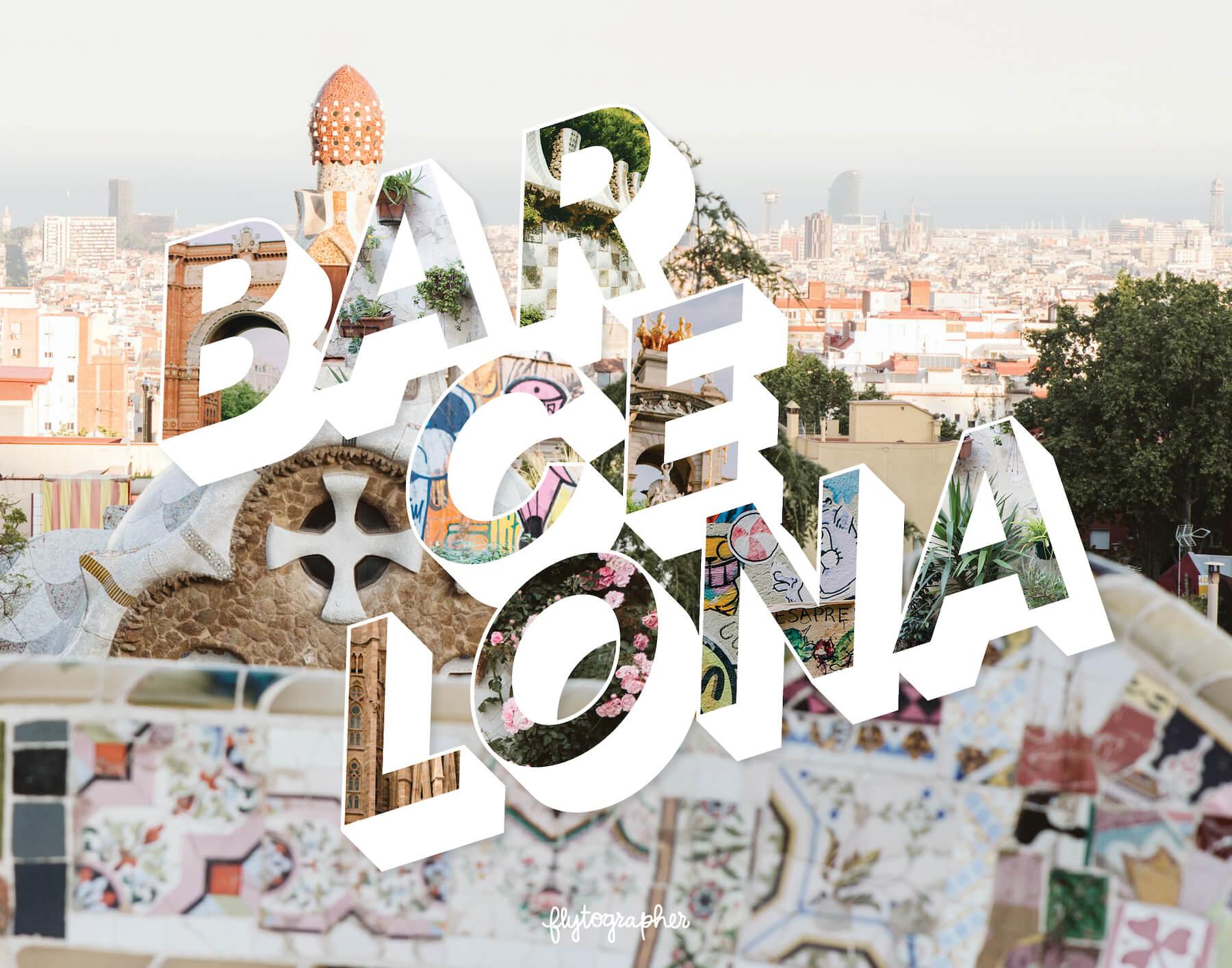 Barcelona city puzzle