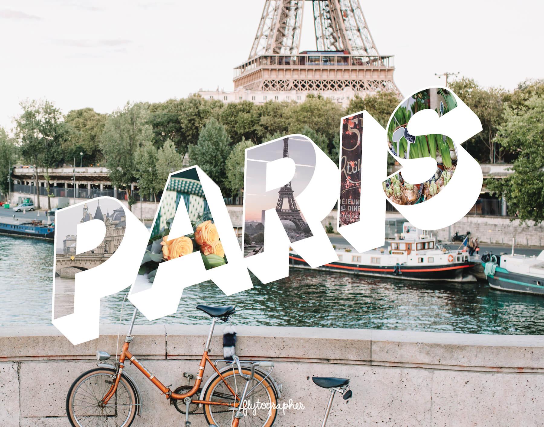 Paris city puzzle