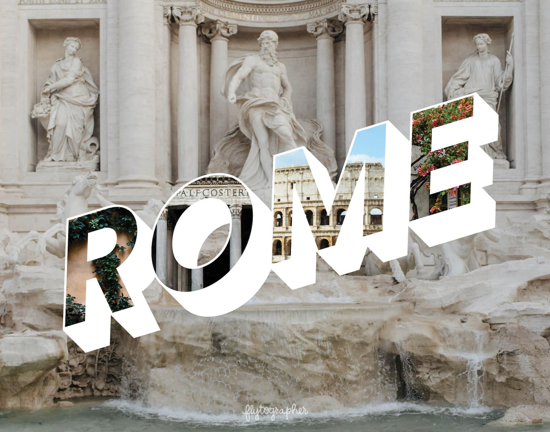 Rome city puzzle