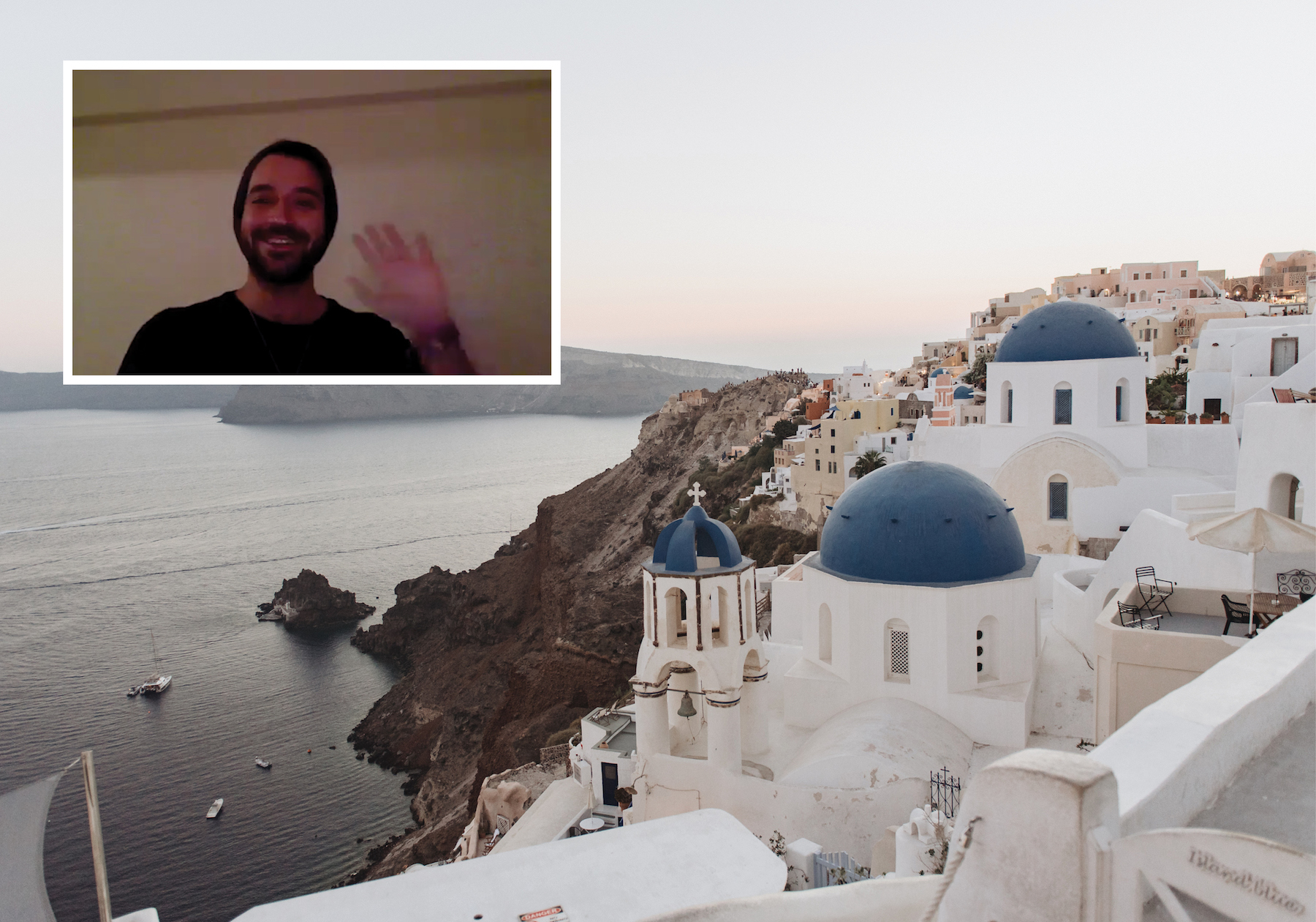 The Together Series: Kimon in Santorini