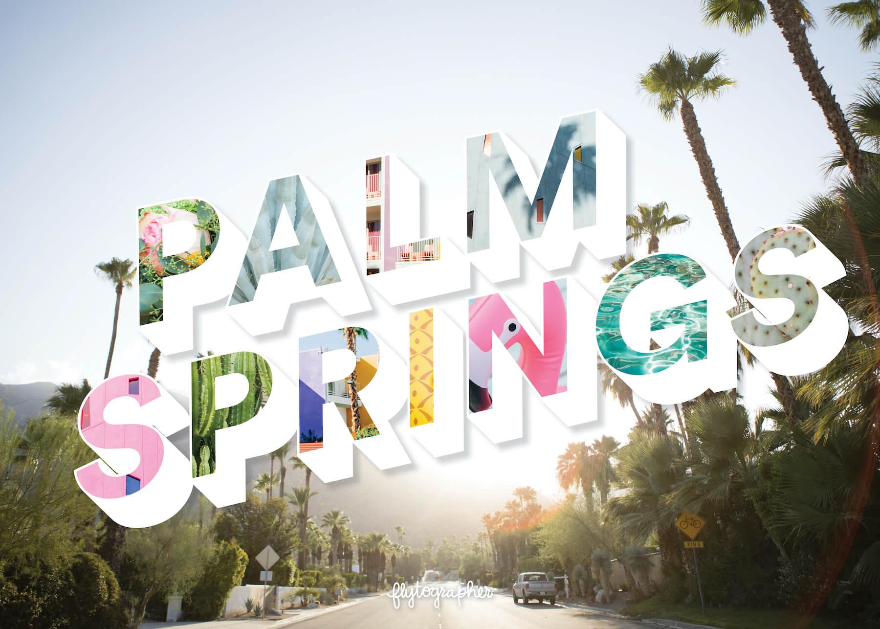 Palm Springs city puzzle