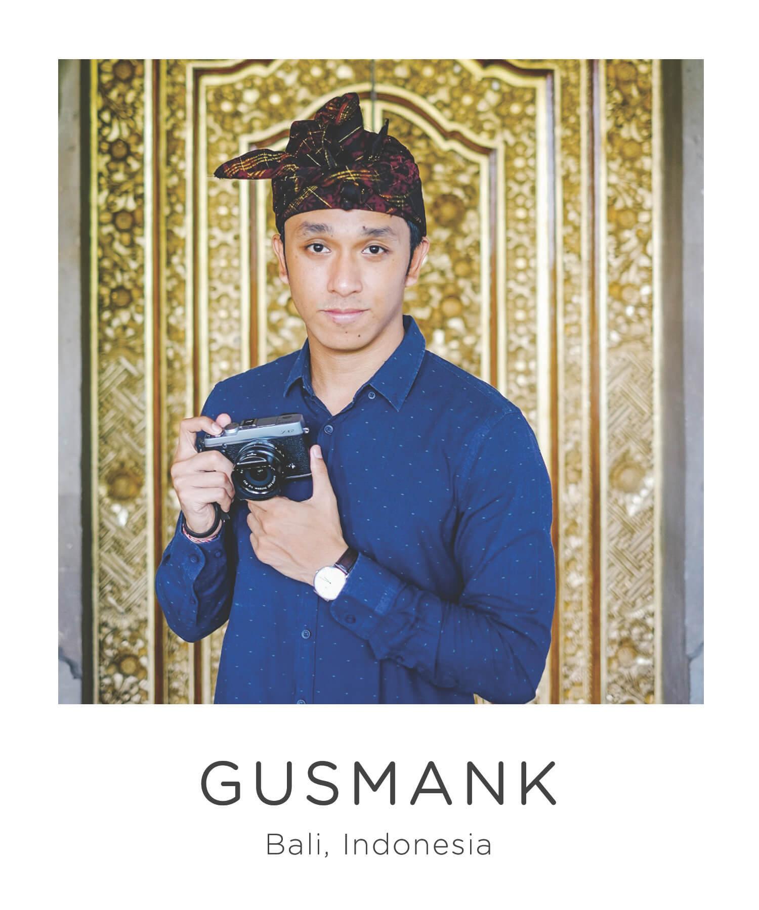 Bali Photographer Gusmank