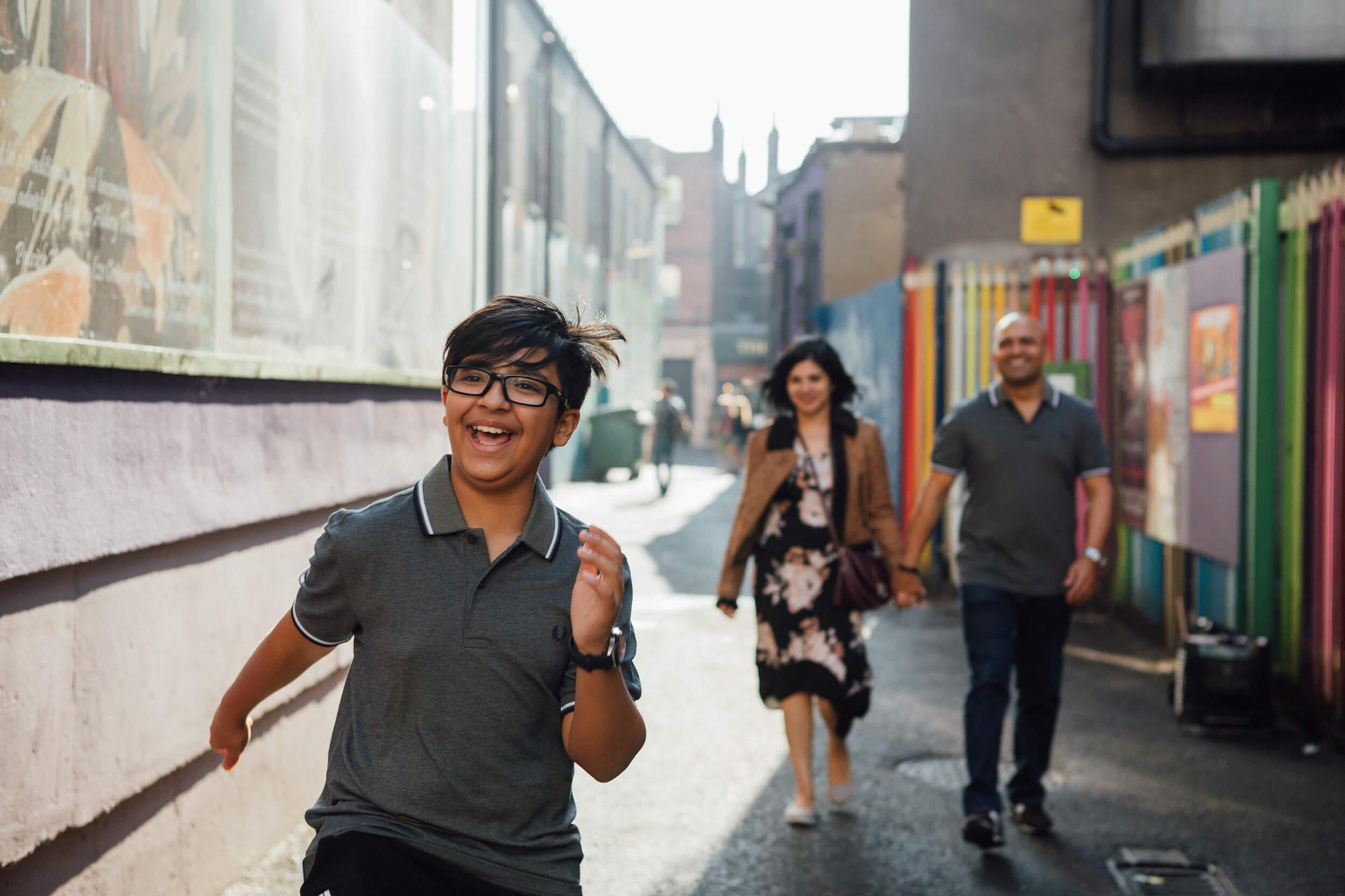 Family vacation culture in Dublin Ireland