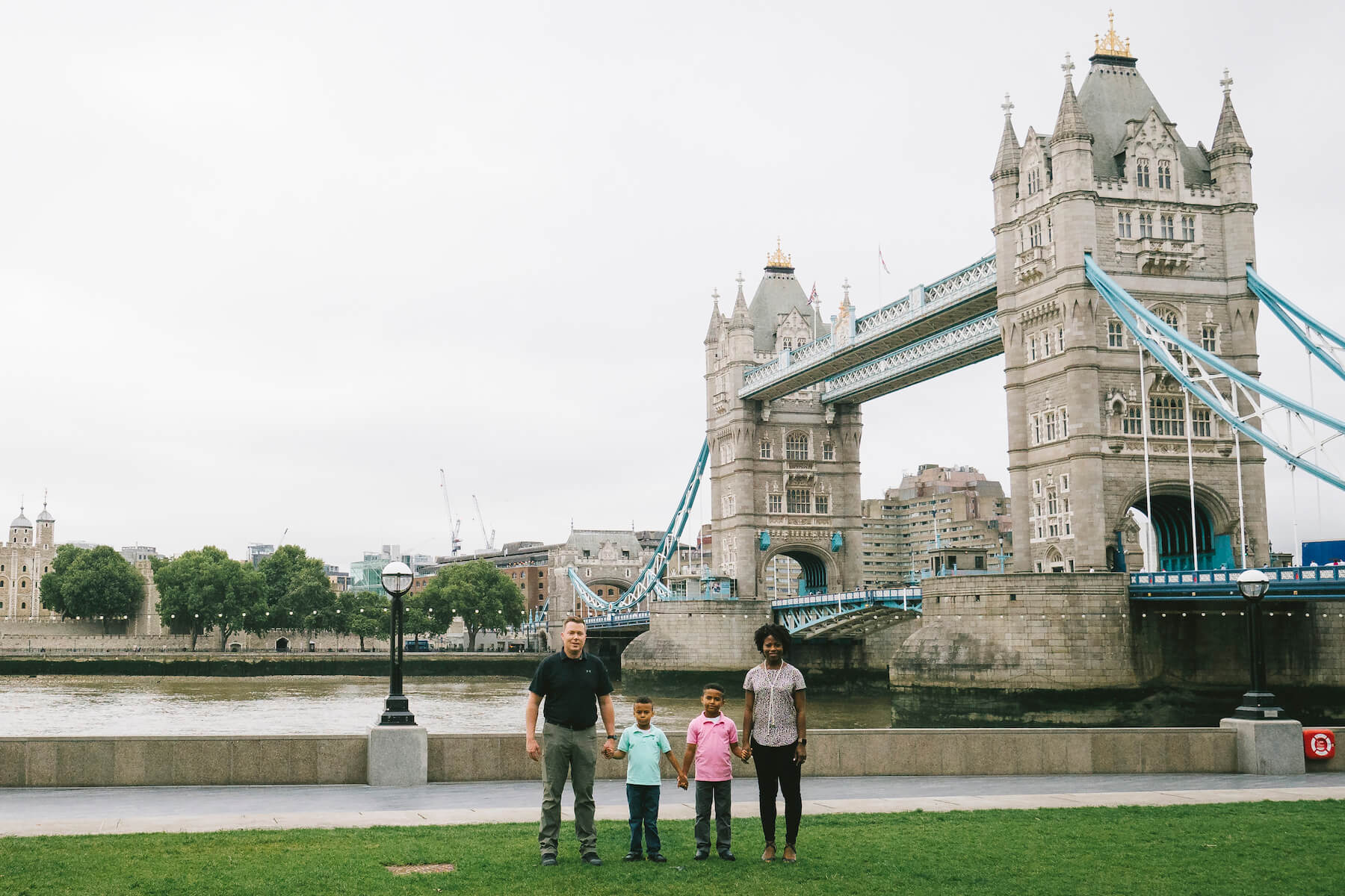 Family Hometown Photo Shoot in London