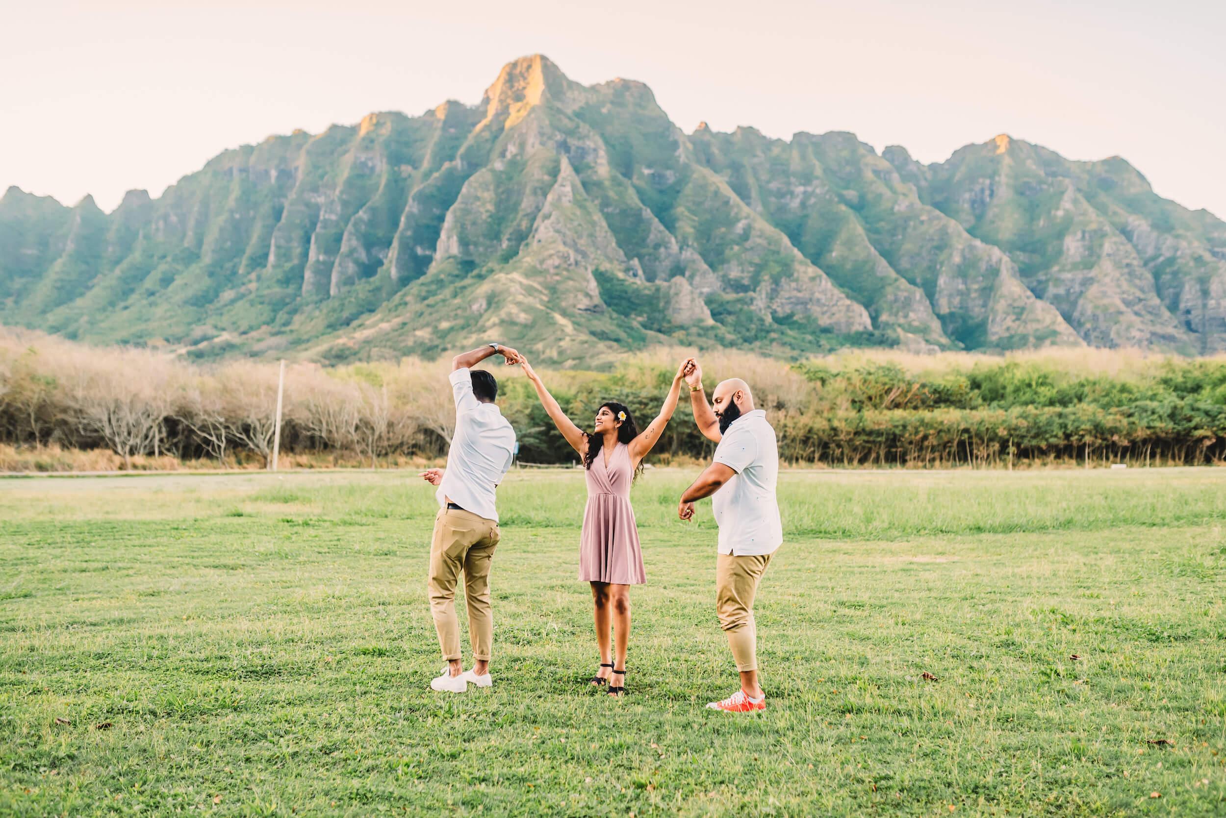 Family vacation in Honolulu Hawaii USA