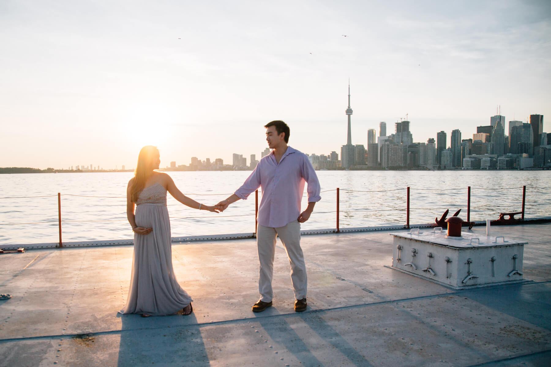 Family trip to Toronto Canada