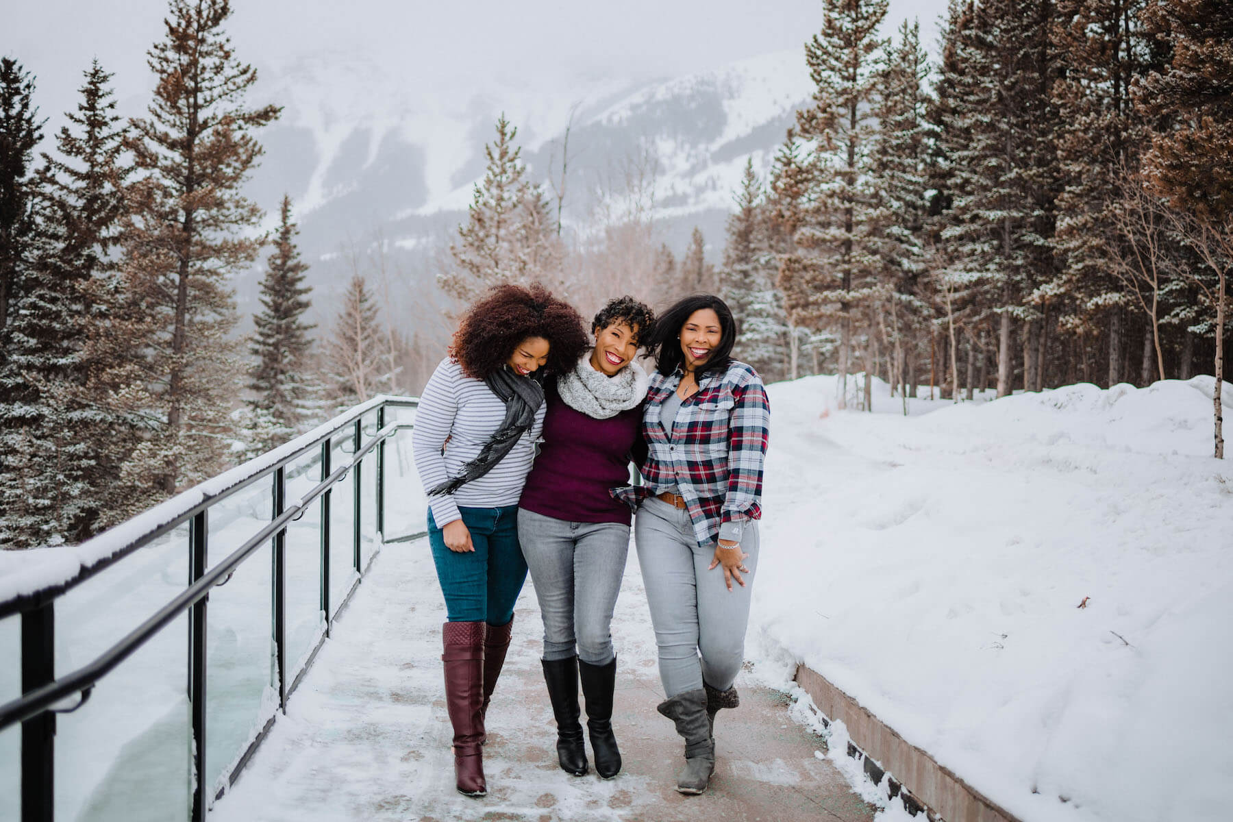 Friends trip in Banff, Canada