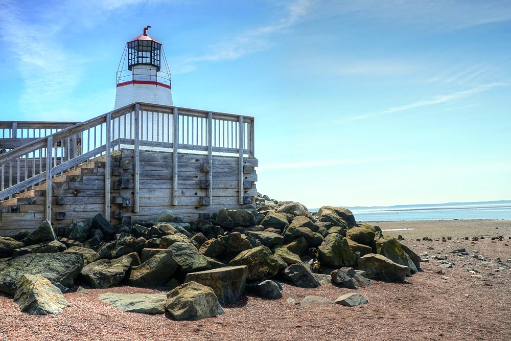 Pendlebury Lighthouse in New Brunswick Canada