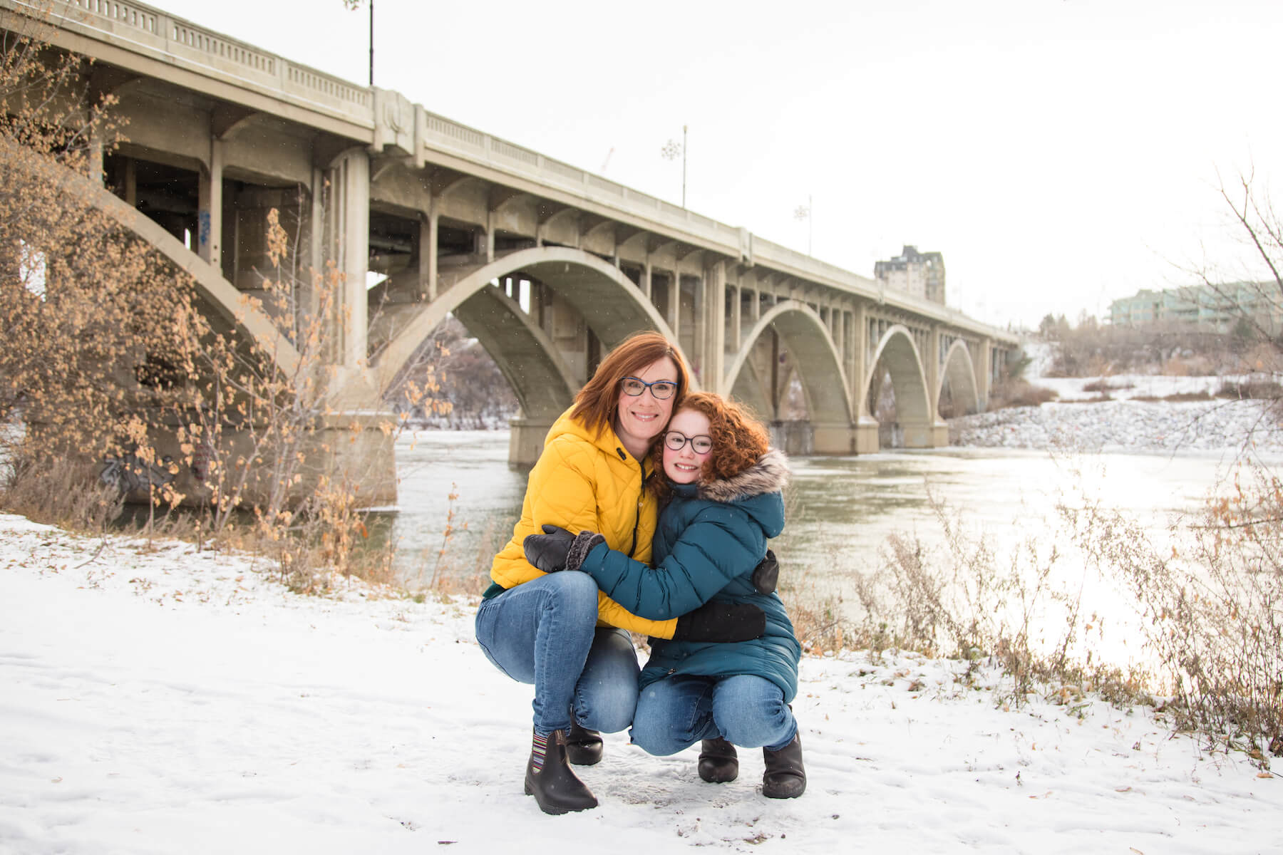 Mother daughter trip in Saskatoon Canada