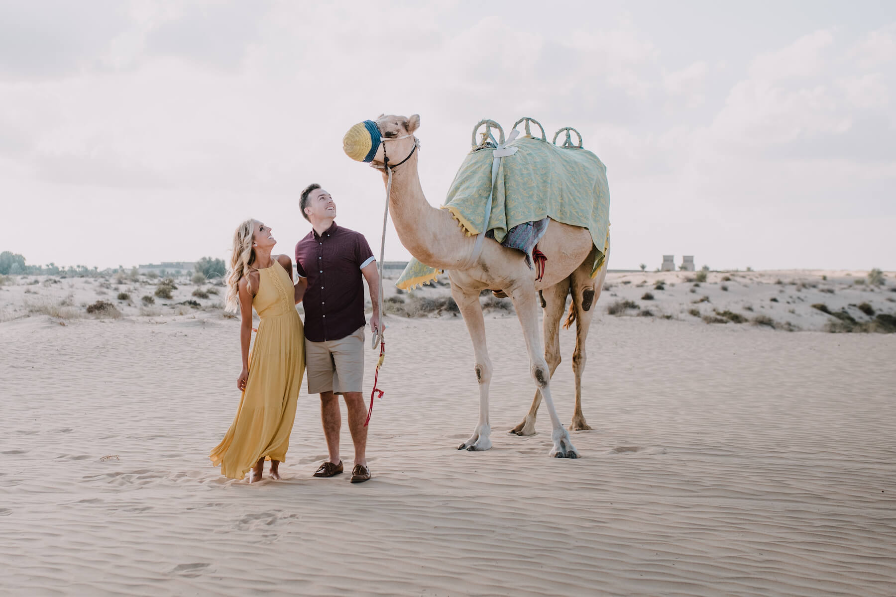 Akemi in Dubai for Flytographer