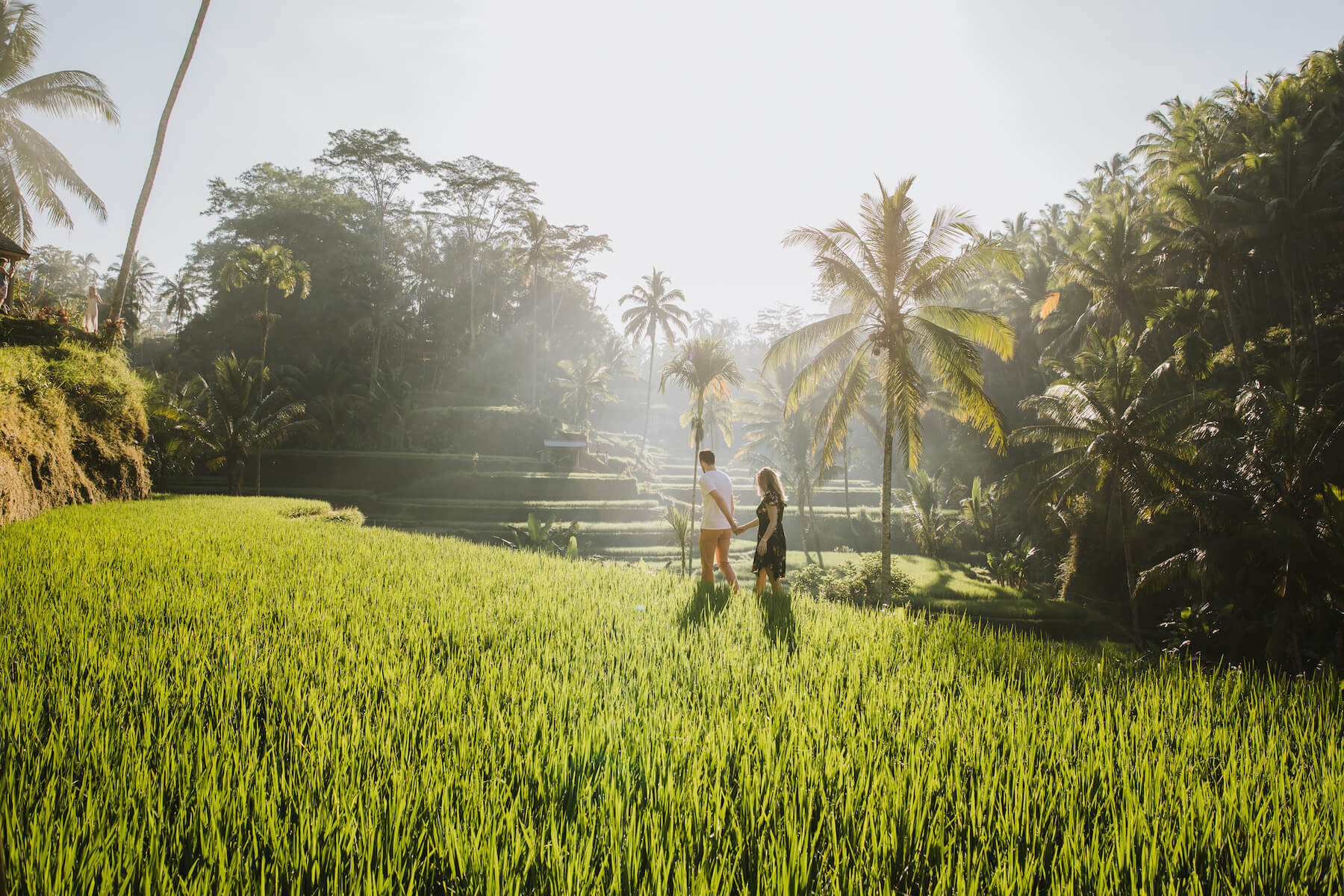 Bayu and Ivony in Bali