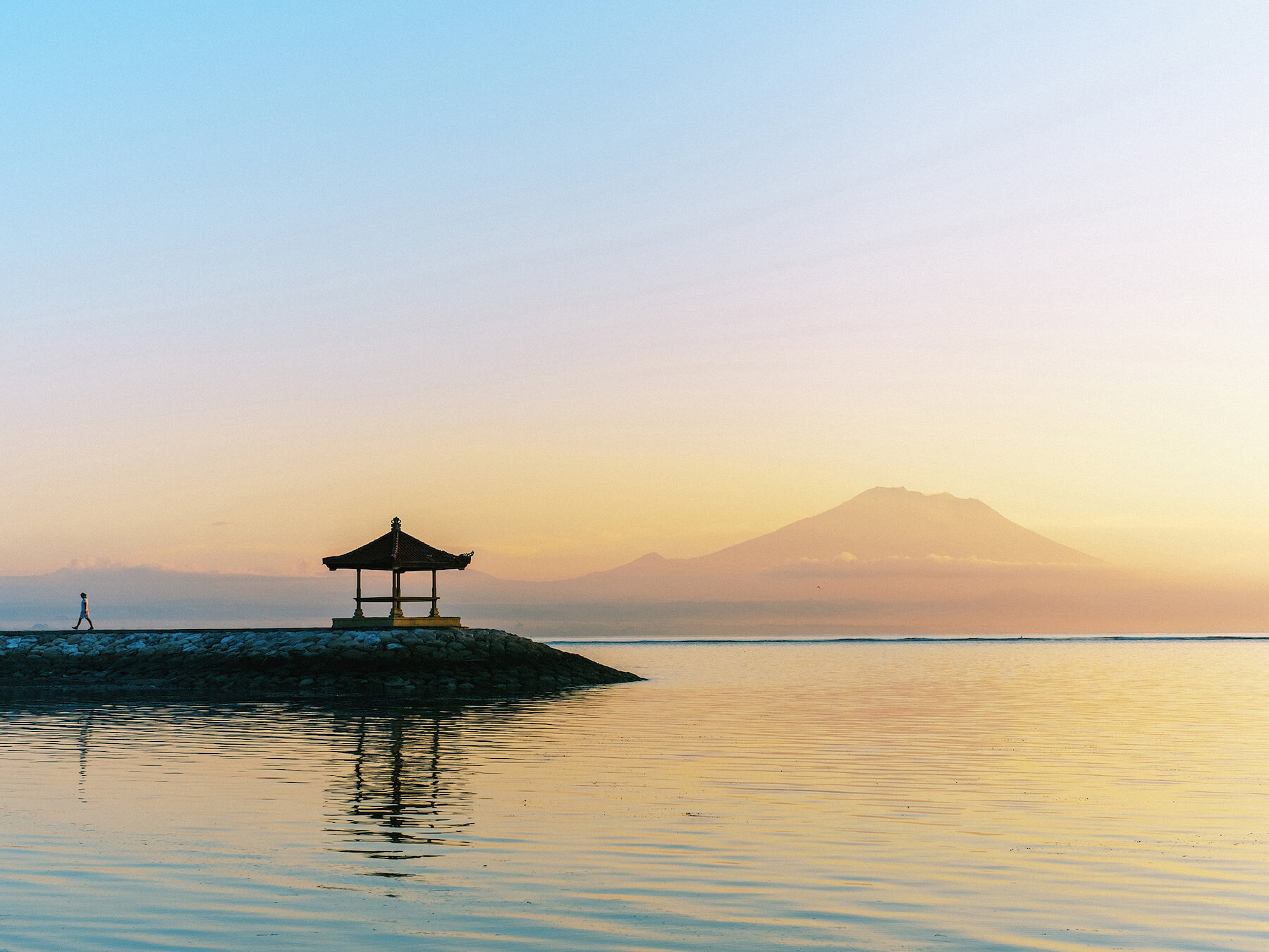 Fine art city print and travel home decor from Sanur Beach Bali, Indonesia